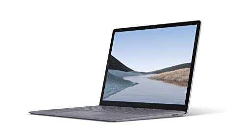 Microsoft Surface Laptop 3 – 13.5' Touch-Screen – Intel Core i5 - 8GB Memory - 256GB Solid State Drive – Platinum with Alcantara